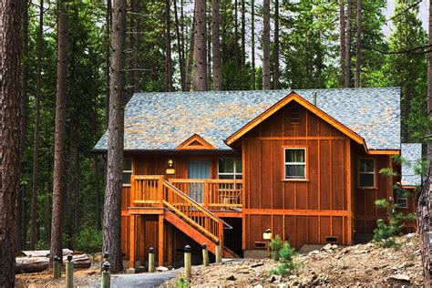 Yosemite National Park Lodging Cabins by Evergreen Lodge Yosemite In Yosemite National Park Hotel