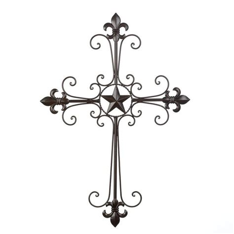 fancy texas star wall decor home decor texas star home texas lone star cross wall decor wrought iron large 24 50