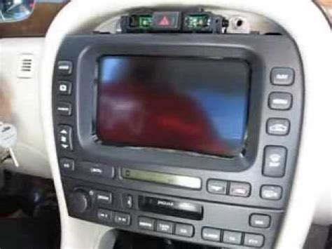 jaguar x type radio removal how to remove radio display navigation from jaguar x