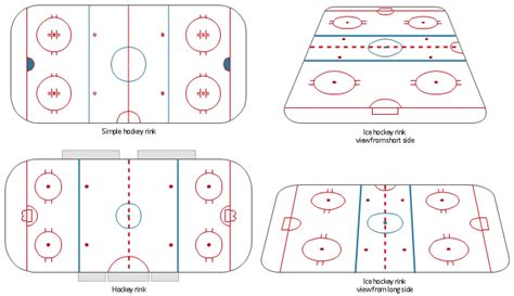 hockey rink layout design ice hockey rink dimensions ice hockey ice hockey rink