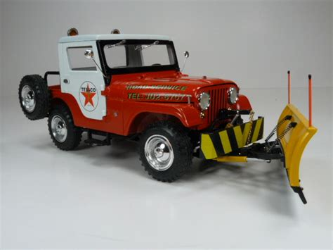 Plow Jeep Jeep Cj 5 Snow Plow Half Cab Road Models Forum