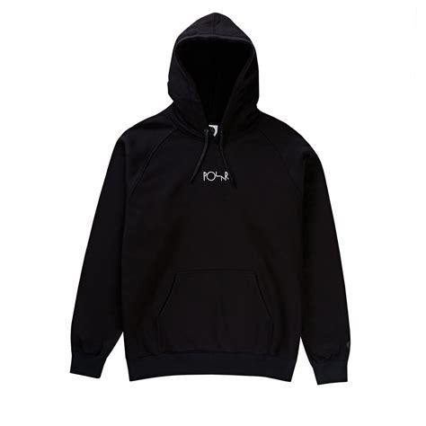 Default Hoodie default hoodie in black white by polar skate co