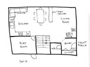 how to draw house floor plans draw floor plans