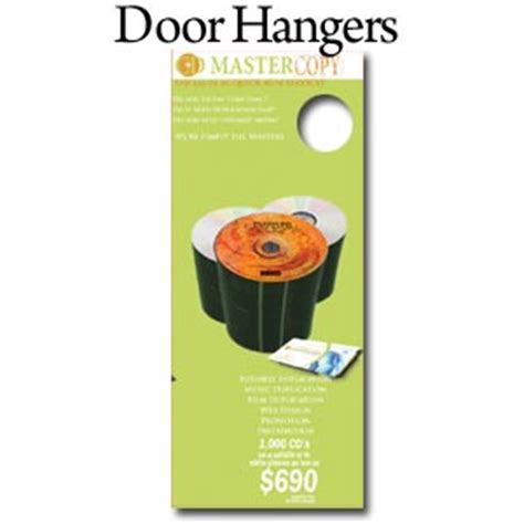 Door Knob Advertising by Door Advertising Hangers Church Door Hangers