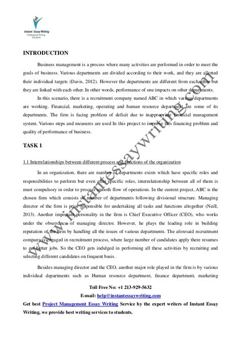 essay introductions sles business management essay introduction polc management