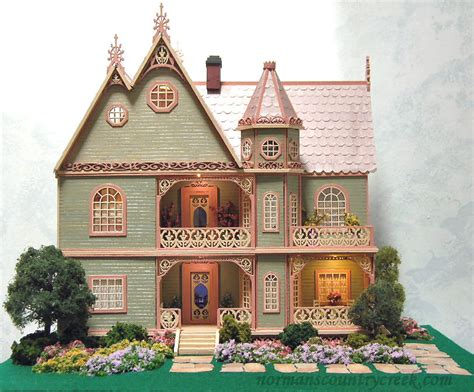 Handcrafted Dollhouse - handcrafted quarter scale the or