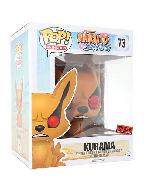 Funko Pop Vinyl Figure Topic Exclusive funko shippuden pop animation kurama vinyl figure topic exclusive pre release