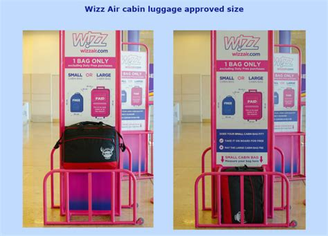 wizzair cabin baggage wizz air introduces new cabin luggage policy