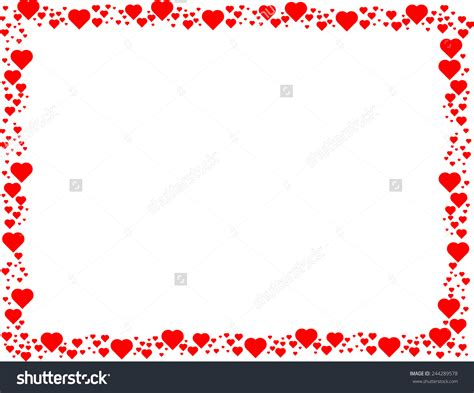 valentines frames 8 s day frame vector images s day