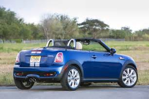 2014 mini cooper roadster rear three quarters photo 18