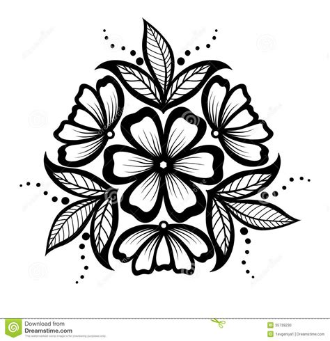 floral pattern design drawing simple floral designs patterns beading patterns