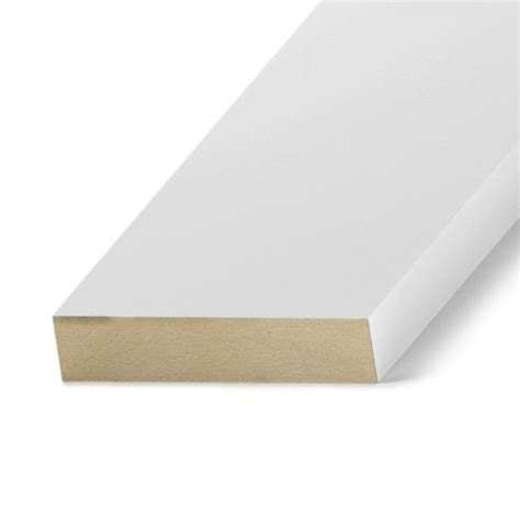 mdf home depot finished elegance 1 in x 6 in x 8 ft mdf moulding board 10003232 the home depot