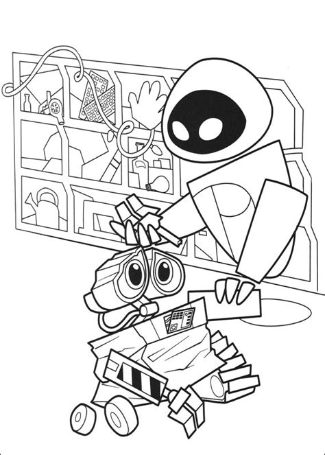 wall e 76 free printable walle coloring pages