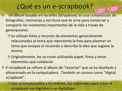 layout scrapbook que es presentacion scrapbook