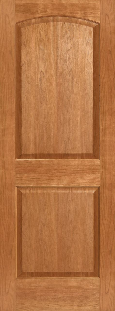 krosscore cherry two panel top rail arch interior door at 2 panel arch doors global pointe