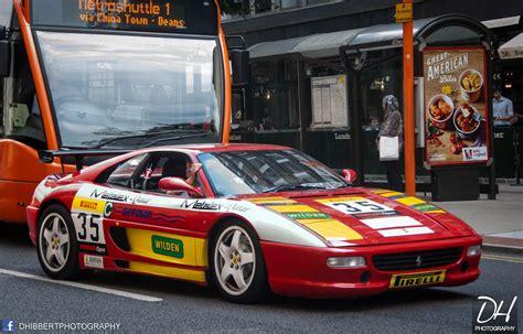 Ferrari F355 Challenge by Rare Rhd Ferrari 355 Challenge Spotted In Manchester