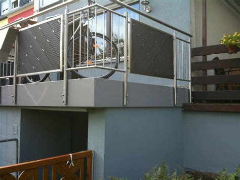 balkongelã nder shop edelstahl balkongel 228 nder preis auf anfrage metall