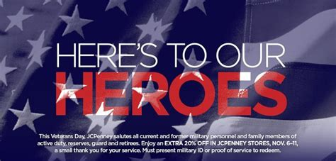 jcpenney printable coupons veterans day 51 best images about veterans day awareness on pinterest