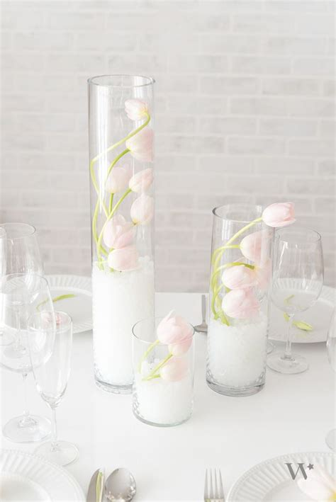 1000 ideas about water pearls centerpiece on