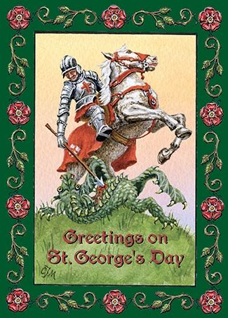 S Day Uk 2018 St George Day Cards 2018 For All Who Our Green And Pleasant Land