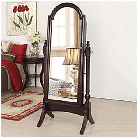 Big Lots Jewelry Armoire by View Cherry Cheval Mirror Jewelry Armoire Deals At Big Lots