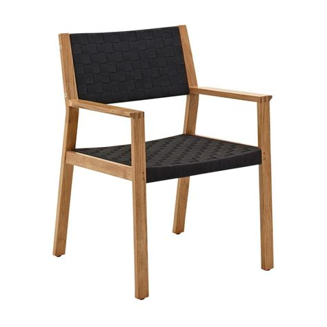 Gloster Maze Dining Chair With Arms Dining Chairs Arms