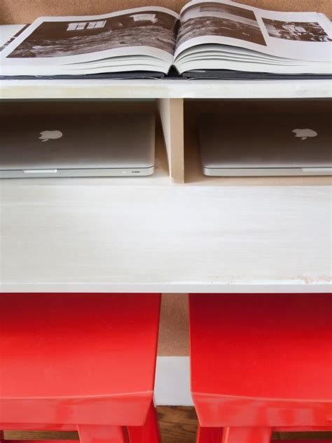 photos hgtv floating wood shelves and glass desk loversiq how to make a space saving floating desk hgtv