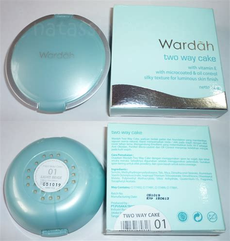 Bedak Inez Two Way Cake wardah kosmetik sri