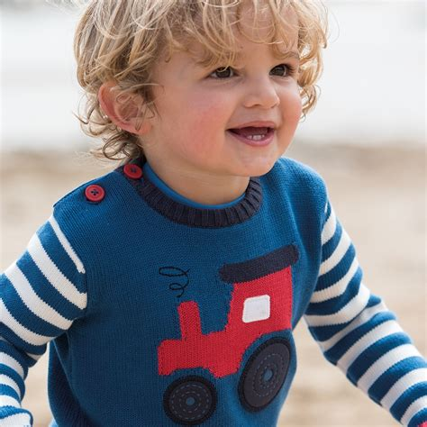 knitting pattern tractor jumper frugi tractor jack knitted jumper