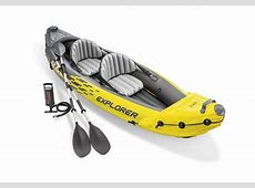Intex 2 Person Explorer K2 Inflatable Kayak w/ Aluminum ... Kayak Explore