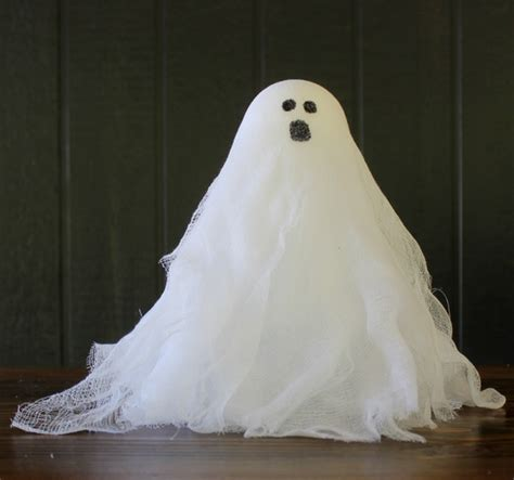 ghost craft for crafts easy cheesecloth ghosts