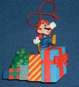 christmas ornament that plays music nintendo mario ornament plays auctions sales pricing