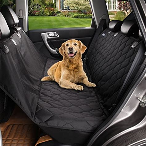 seat protector for dogs pet car back seat cover hammock waterproof protector