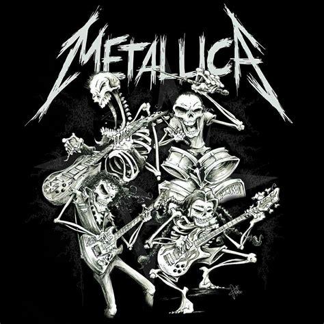 Tshirt Metallica Logo metallica metallica metallica