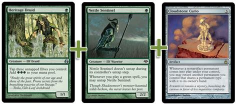 Mtg Instant Win Combos - green devotion elves combo infinite modern mtg deck
