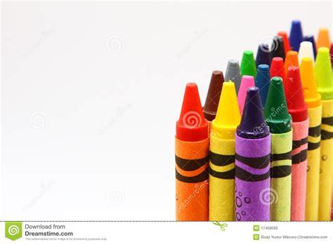 child color children s color wax pencils stock photos image 17409593