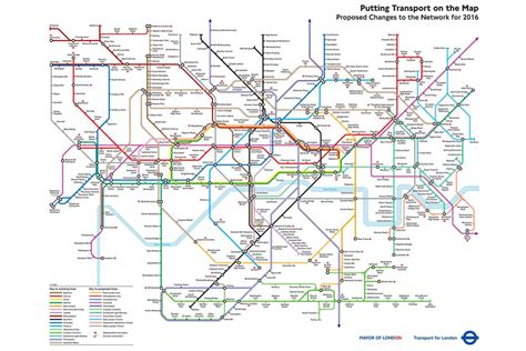 Blueprint House Plans by Tube Map From 2004 Shows How The London Underground Might