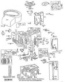engine 8 hp diagram parts list for model 191707601501 briggs stratton parts all products