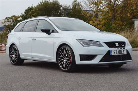 seat cupra 300 and st model inbound stable vehicle