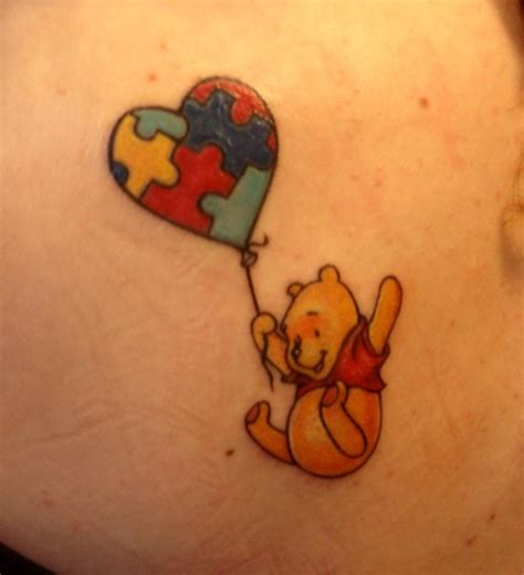 heart puzzle tattoo pooh and puzzle designs puzzle tattoos