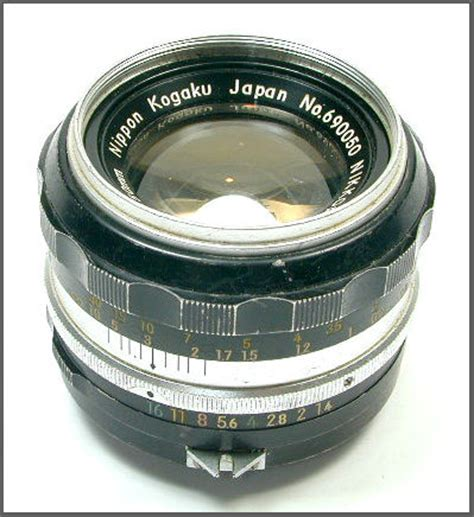 nikkor 50mm standard lenses version history early