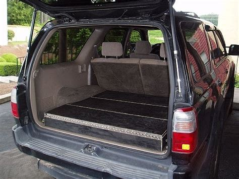 homemade tactical vehicles how to build low profile storage boxes in your suv it