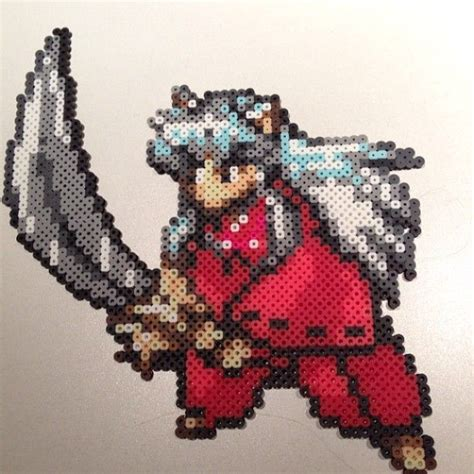 anime perler bead patterns 131 best images about anime sprites on perler