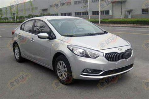 Kia Forte K3 Review Kia K3 China Gets K9 Style Grille And Unique Rear End
