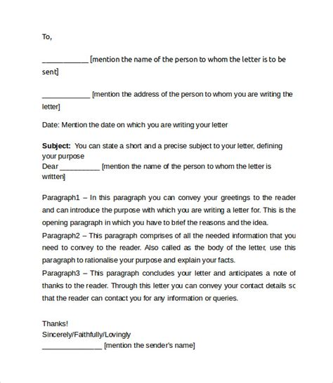 exle friendly letter proper format 36 friendly letter