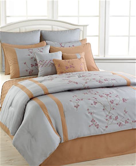 macy bed in a bag closeout trivoli 12 piece queen comforter set bed in a
