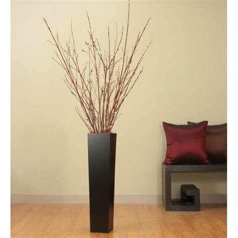 Vase With Branches by Black Vase Filled With Branches For The Home
