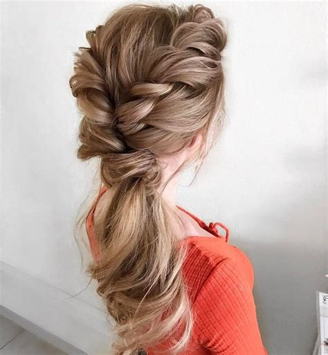 Wedding Hair With A Braid by Best 20 Wedding Hairstyles Ideas On