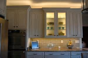 in cabinet lighting installing lighting on a glass cabinet inspiredled