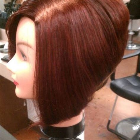high stacked bob high stacked bob and hair color hair pinterest